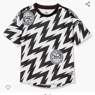【新品】【サイズ:140】adidasキッズTシャツ(白)