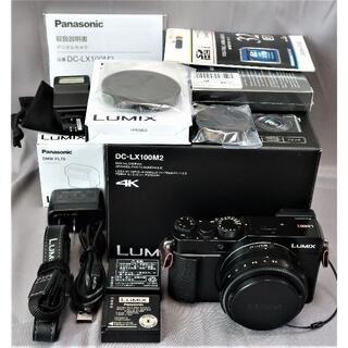 Panasonic - パナソニック  プレミアムコンデジ  4K動画・WiFi・ファインダー搭載