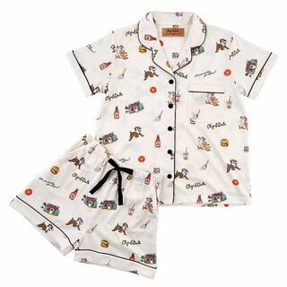ディズニー(Disney)の<新品>Mサイズ チップとデール 半袖パジャマ 上下セット ディズニーストア(パジャマ)