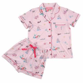 ディズニー(Disney)の<新品>Mサイズ アリエル&フランダー半袖パジャマ 上下セット ディズニーストア(パジャマ)