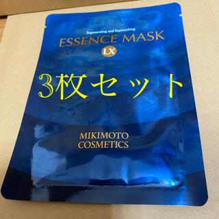 ミキモトコスメティックス(MIKIMOTO COSMETICS)のミキモト フェイスパック 3枚セット(パック/フェイスマスク)