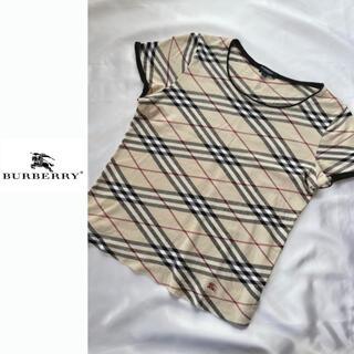 BURBERRY - BURBERRY 半袖Tシャツ ノバチェック