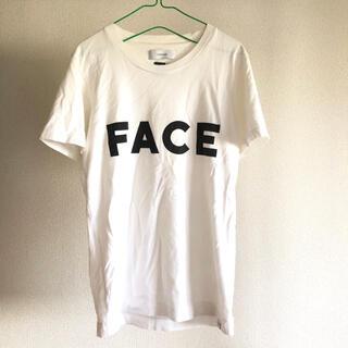 ファセッタズム(FACETASM)のFACETASM Tシャツ FACEロゴ 定価¥9,720(Tシャツ/カットソー(半袖/袖なし))