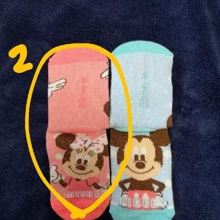 ディズニー(Disney)の【マユ様専用】ミニー靴下 2足(靴下/タイツ)