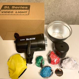 【美品】Godox SL60W LEDビデオライト 撮影 照明器具