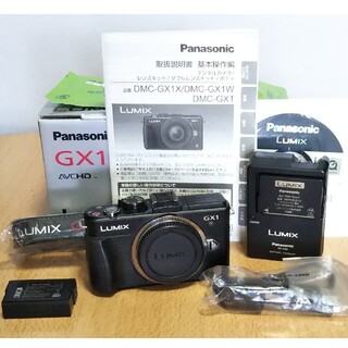 Panasonic - 大幅値下げ! シャッター数わずか3398回 Lumix DMC-GX1 ボディ