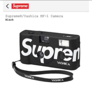 シュプリーム(Supreme)の送料無料! シュプリーム  ヤシカ フィルムカメラ 黒(フィルムカメラ)