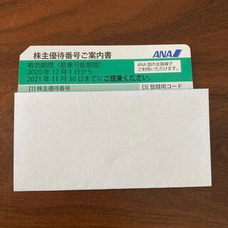 エーエヌエー(ゼンニッポンクウユ)(ANA(全日本空輸))のANA 株主優待乗車券(航空券)