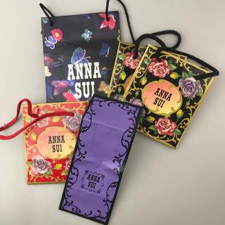 アナスイ(ANNA SUI)のアナスイ ショッパー5枚 ショップ袋 ショップバッグ ANNA SUI(ショップ袋)