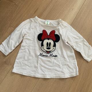 ディズニー(Disney)のミニー  7部袖?ロンT80㎝(Tシャツ)