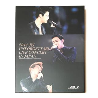 JYJ - JYJ UNFORGETTABLE LIVE 2011 2DVD+写真集