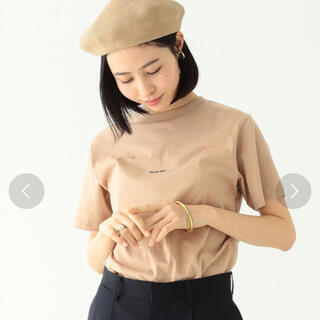ビームスボーイ(BEAMS BOY)のBEAMS BOY エンブロイダリー クルー Tシャツ(Tシャツ(半袖/袖なし))