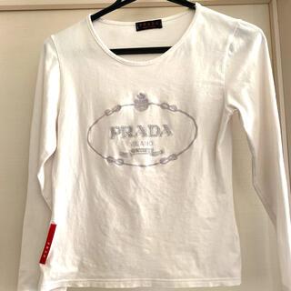 プラダ(PRADA)の長袖Tシャツ(プラダ)(Tシャツ/カットソー(七分/長袖))