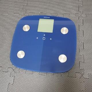 エレコム(ELECOM)の新品同様 エレコム体組成計 2019年発売モデル(体重計/体脂肪計)