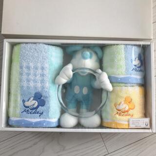 ミッキーマウス - ミッキーマウス新品未使用ディズニー タオルハンガー フェイスタオル ゲストタオル