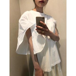 AKIRA NAKA アキナカ カットソー ホワイト(カットソー(半袖/袖なし))