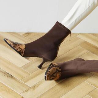 SeaRoomlynn - Fabric Stretch ブーツ