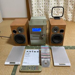 ケンウッド(KENWOOD)の【中古】KENWOOD コンポ SL-3MD 取説付き(スピーカー)