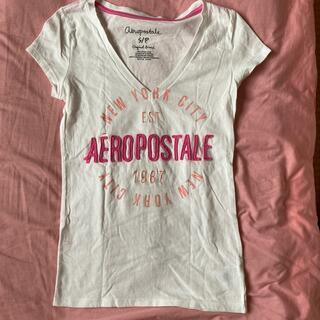 エアロポステール(AEROPOSTALE)のVネックTシャツ(Tシャツ(半袖/袖なし))
