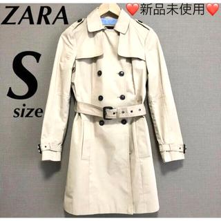 ザラ(ZARA)の♡新品未使用♡ZARA BASIC トレンチコート ベージュ(トレンチコート)
