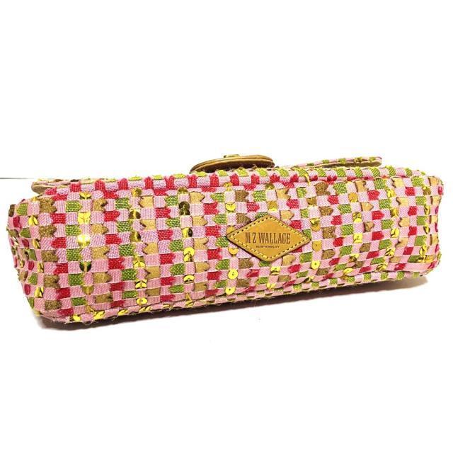 MZ WALLACE(エムジーウォレス)のウォレス - ピンク×ブラウン×マルチ レディースのバッグ(ショルダーバッグ)の商品写真