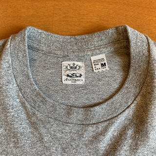 Engineered Garments - 5/10値下げ アナトミカ ポケット Tシャツ M グレー アメリカ製