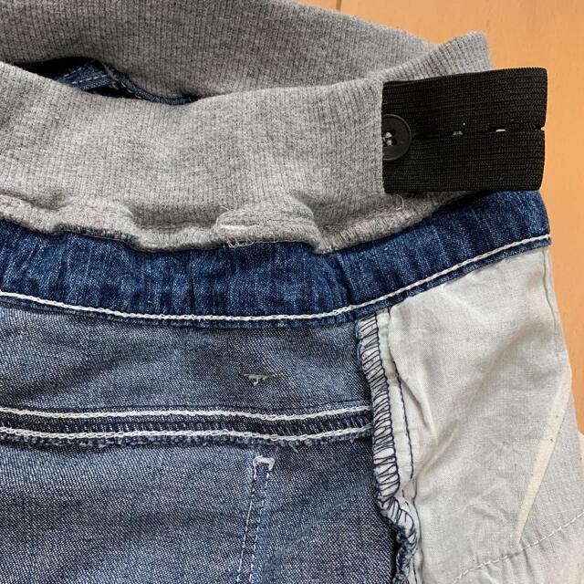 MPS(エムピーエス)のMPS デニム ショートパンツ ☆ 140㎝ キッズ/ベビー/マタニティのキッズ服女の子用(90cm~)(パンツ/スパッツ)の商品写真