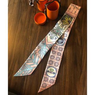 エルメス(Hermes)の新品未使用 、エルメス  アマゾン デンス ピンク ツイリー(スカーフ)