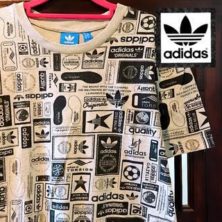 adidas - アディダス オリジナルス 人気! ロゴいっぱい Tシャツ アロハシャツ ジャージ