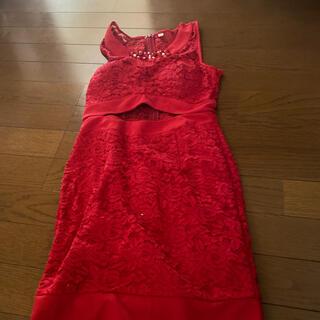 ナイトドレス赤(ナイトドレス)