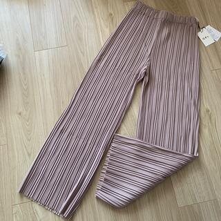 GRL - 新品☆GRL グレイル プリーツ パンツ ズボン