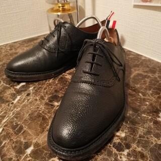 THOM BROWNE - 【週末値下】THOM BROWNE トムブラウン 革靴 プレーントゥ