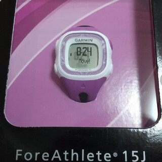 ガーミン時計 foreathlete15j(ランニング/ジョギング)