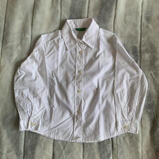 ベネトン(BENETTON)のキッズ ベネトンシャツ男の子(Tシャツ/カットソー)
