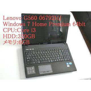 Lenovo - Lenovo G560 06792HJ