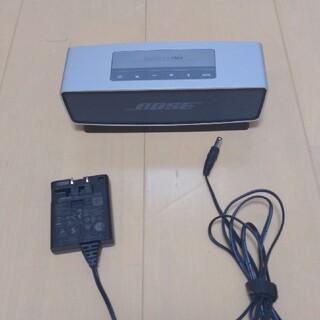 ボーズ(BOSE)のBOSE SoundLinkMini スピーカー(ポータブルプレーヤー)