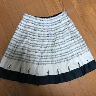 M'S GRACY - ❤️美品❤️エムズグレイシー 音符 楽譜柄 スカート