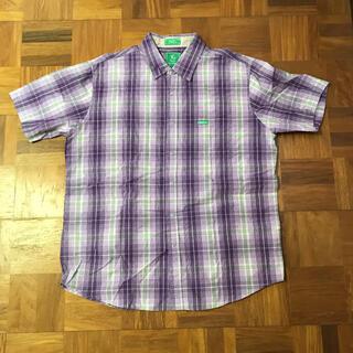 エルアールジー(LRG)の【LRG】半袖シャツ 半袖 シャツ チェック柄 エルアールジー メンズ L(シャツ)