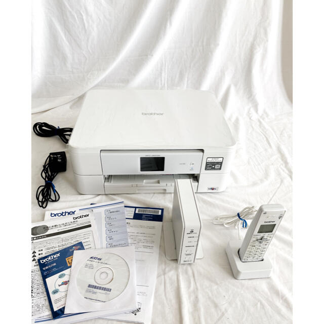brother(ブラザー)のブラザー 複合機  MFC-J837DN(子機1台付き) スマホ/家電/カメラのPC/タブレット(PC周辺機器)の商品写真