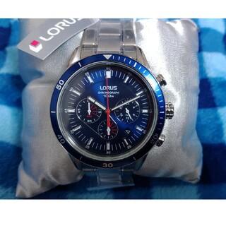 セイコー(SEIKO)のセイコー(SEIKO) LORUS 腕時計 ブルーフェイス(腕時計(アナログ))