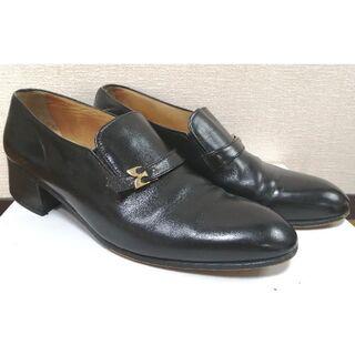メンズ アンティーク ヒール靴(ドレス/ビジネス)