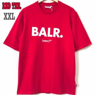 エフシーアールビー(F.C.R.B.)の本物 新品 XXL ♪ BALR RED Tシャツ ボーラー 赤 ビッグサイズ(Tシャツ/カットソー(半袖/袖なし))