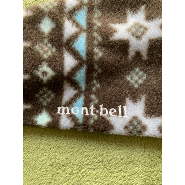 mont bell(モンベル)のモンベル フリースマフラー メンズのファッション小物(マフラー)の商品写真
