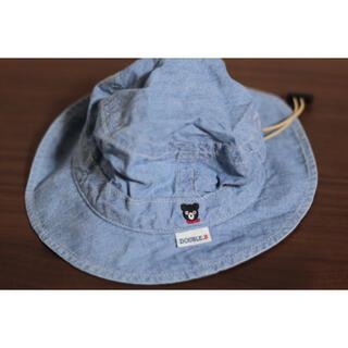 ダブルビー(DOUBLE.B)のミキハウス DOUBLE_B  ダブルビー 帽子 サイズ46(帽子)