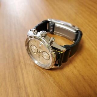 ソニー(SONY)のwena3 rubber Black  WNW-A21A+エンドピースコネクタ (腕時計(デジタル))