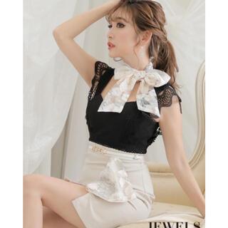 JEWELS - 【jewels】刺繍リボンドレス