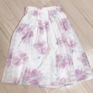 クイーンズコート(QUEENS COURT)のスカート(ひざ丈スカート)