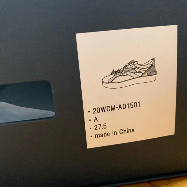 kolor(カラー)のkolor 20aw スニーカー 27.5 メンズの靴/シューズ(スニーカー)の商品写真