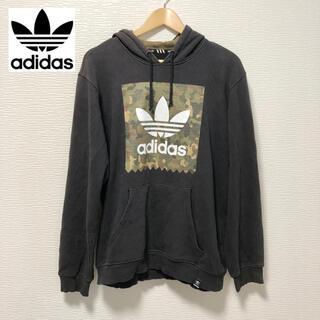 adidas - adidas アディダス パーカー 迷彩 フーディー Mサイズ