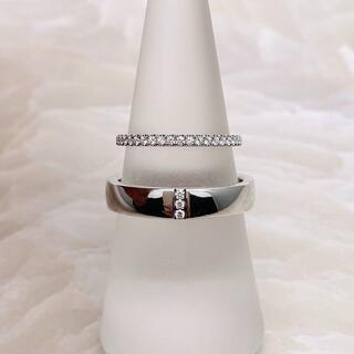 ハリーウィンストン(HARRY WINSTON)の★HARRY WINSTON★ マリッジリング ダイヤリング 結婚指輪(リング(指輪))